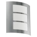 Eglo 18631 - Aplică perete exterior SANREMO 1xE27/60W/230V