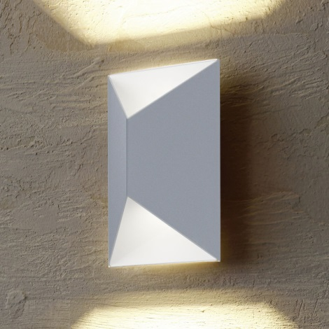 Eglo 54603 - Aplică perete exterior LED PREDAZZO 2xLED/2,5W/230V IP44