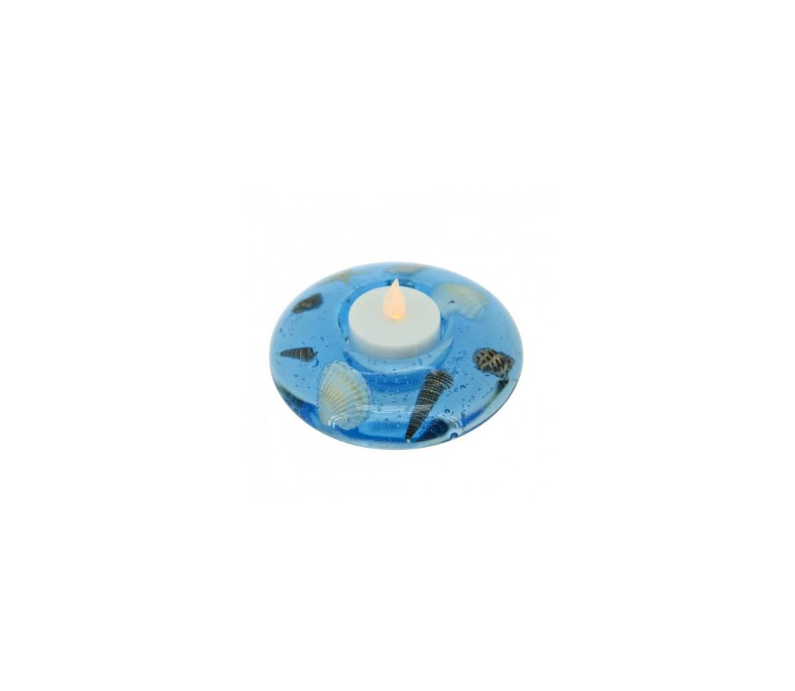 Eglo 75168 - Veioză decorativă 1xLED/003W/3V albastru