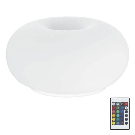 Eglo 75355 - LED RGB Lampă de masă OPTICA-C 2xE27/7,5W/230V