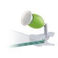 Eglo 78063 - Lampă LED cu clips BRIVI 1xGU10/3W/230V