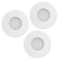 Eglo 93218 - SET 3x Corp de iluminat baie LED incastrabil IGOA 3xGU10/5W