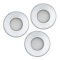 Eglo 93219 - SET 3x Spoturi baie incastrabile LED IGOA 3xGU10-LED/5W/230V