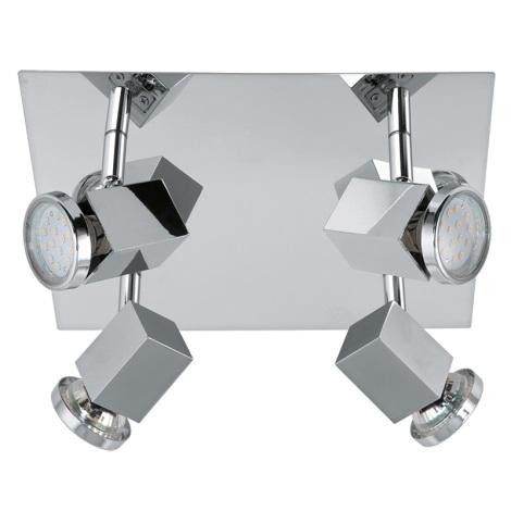Eglo 93324 - LED Lampa spot ZABELLA 4xGU10-LED/5W/230V