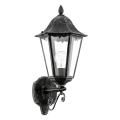 Eglo 93457 - Corp de iluminat perete exterior NAVEDO 1xE27/60W/230V