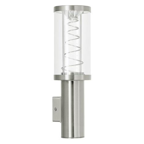 Eglo 94208 - Corp de iluminat LED exterior TRONO 1 1xGU10/35W + 1xLED/3,7W