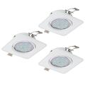 Eglo 94266 - SET 3x Corp de iluminat LED tavan fals PENETO 3xGU10-LED/5W/230V