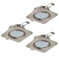 Eglo 94268 - SET 3x Corp de iluminat LED tavan fals PENETO 3xGU10-LED/5W/230V