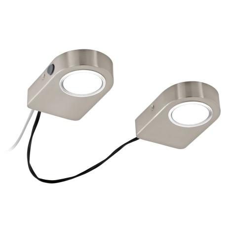 Eglo 94514 - SET 2x Corp de iluminat LED pentru bucatarie LAVAIO 2xLED/3,7W/230V