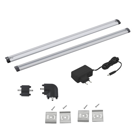 Eglo 94694 - SET 2x LED Lampa design minimalist VENDRES 2xLED/5W/230V