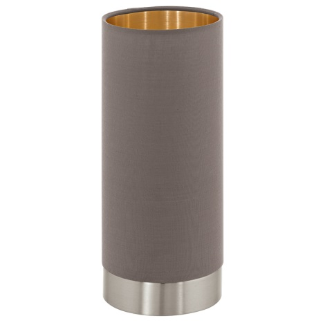 Eglo 95123 - Lampa de masa cu lumina reglabila MASERLO 1xE27/60W/230V