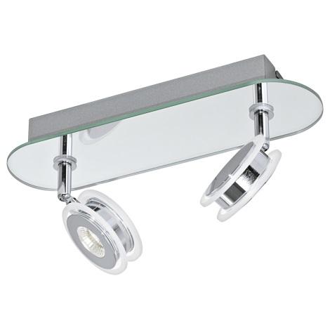 Eglo 95278 - Corp de iluminat LED baie AGUEDA 2xLED/3,3W/230V