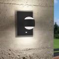 Eglo 96021 - LED Corp de iluminat perete exterior cu senzor SESIMBA 1 2xLED/3,7W