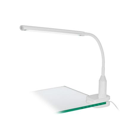 Eglo 96434 - LED Lampă cu clips LAROA LED/4,5W/230V alb