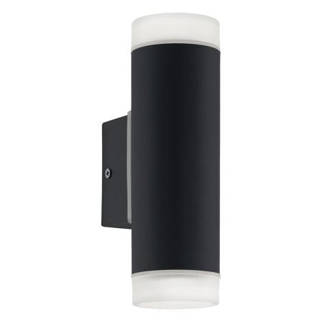 Eglo 96505 - LED Corp de iluminat perete exterior RIGA 2xGU10/5W