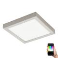 Eglo 96681 - Plafoniera LED FUEVA-C LED/21W/230V crom mat patrat