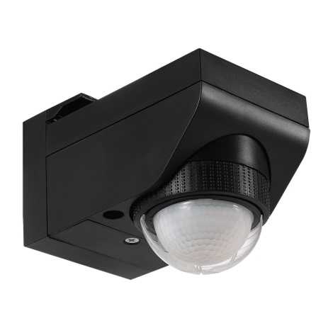 Eglo 97467 - Senzor de miscare DETECT ME 4 12 m negru IP44