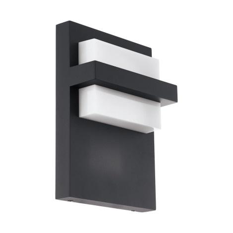Eglo 98088 - Aplică perete exterior LED CULPINA LED/10W/230V IP44 negru