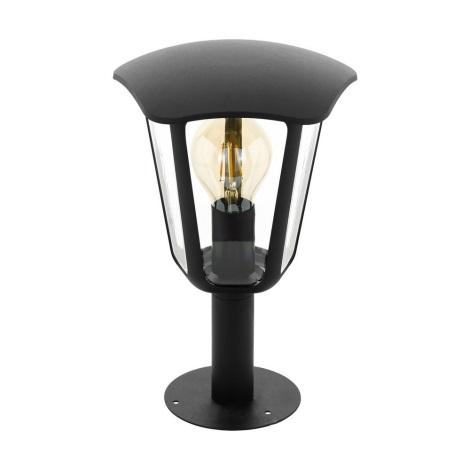 Eglo 98122 - Lampă exterior MONREALE 1xE27/60W/230V IP44 înălțime 335 negru