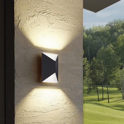 Eglo - Corp de iluminat LED exterior 2xLED/2,5W/230V
