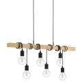 Eglo - Lampa suspendata 6xE27/60W/230V