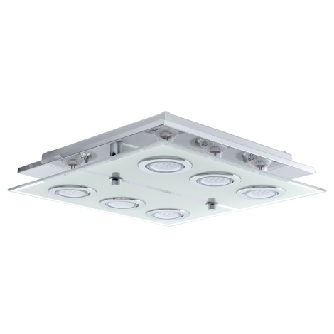 Eglo - LED Plafoniera 6xGU10/3W/230V