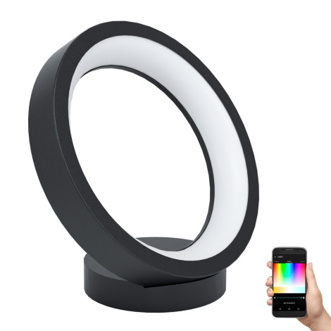 Eglo - LED RGB Lampă de masă dimmabilă MARGHERA-C LED/16W/230V