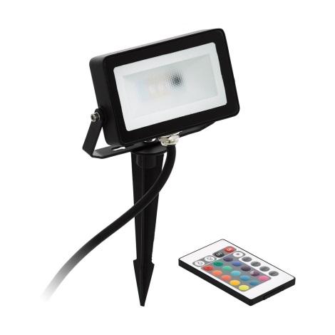 Eglo - Proiector LED RGB LED/10W/230V + telecomandă