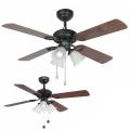 FARO 33102 - Ventilator de tavan LISBOA 3xE27/60W/230V