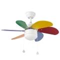 FARO 33179 - Ventilator de tavan PALAO 1xE14/40W/230V