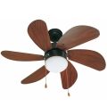 FARO 33185 - Ventilator tavan PALAO 1xE14/40W/230V