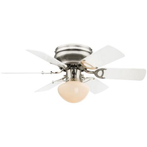 GLOBO 0307W - Ventilator de tavan UGO 1xE27/60W/230V
