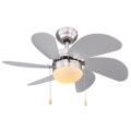 Globo 03801 - Ventilator de tavan RIVALDO 1xE14/60W/230V