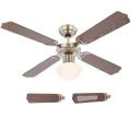 Globo 03804 - Ventilator de tavan CHAMPION 1xE27/60W/230V