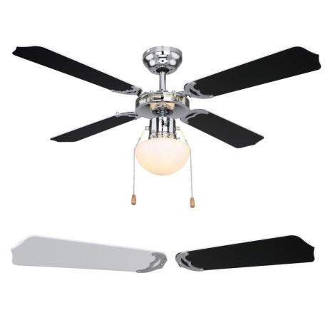 Globo 03805 - Ventilator de tavan CHAMPION 1xE27/60W/230V