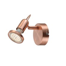 GLOBO 54383-1 - LED Lampa spot COPPER 1xLED/3W/230V