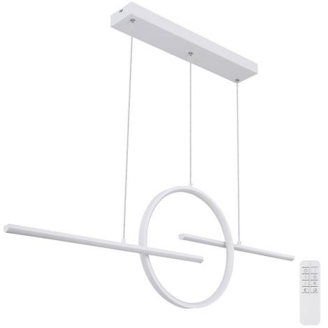 Globo - LED Lustră pe cablu dimmabilă LED/50W/230V + telecomandă