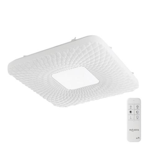 Globo - Plafonieră LED cu telecomandă 1xLED/24W/230V