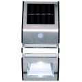Grundig - LED Aplică perete solară cu senzor 1xLED IP44