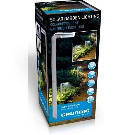 Grundig - LED Lampă solară 4xLED/1xAAA