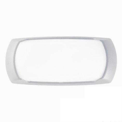 Ideal lux - Aplică perete exterior 1xE27/23W/230V alb IP66