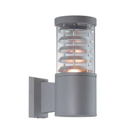 Ideal lux - Aplica perete exterior 1xE27/60W/230V gri