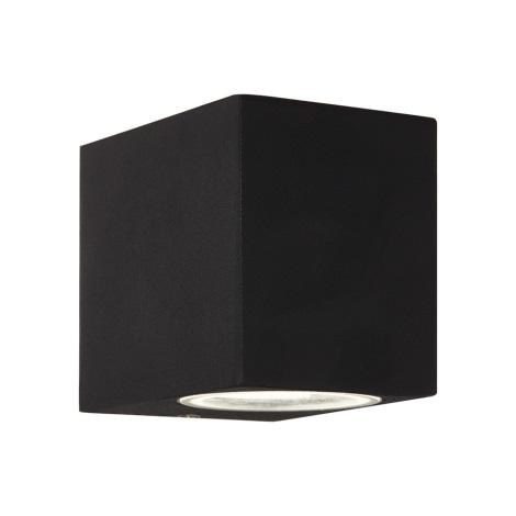 Ideal lux - Aplica perete exterior 1xG9/28W/230V negru