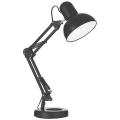 Ideal lux - Lampa de masa 1xE27/40W/230V negru