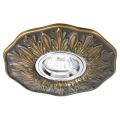 Ideal lux - Lampă încastrată 1xGU10/50W/230V bronz