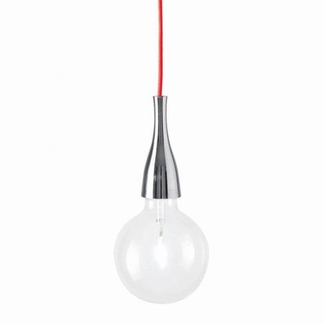 Ideal lux - Lampa suspendata 1xE27/42W/230V crom lucios