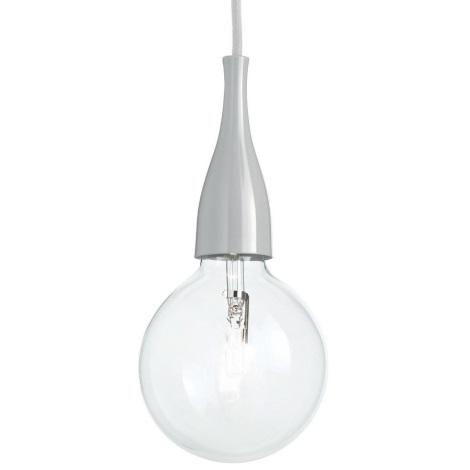 Ideal lux - Lustră pe cablu 1xE27/42W/230V gri