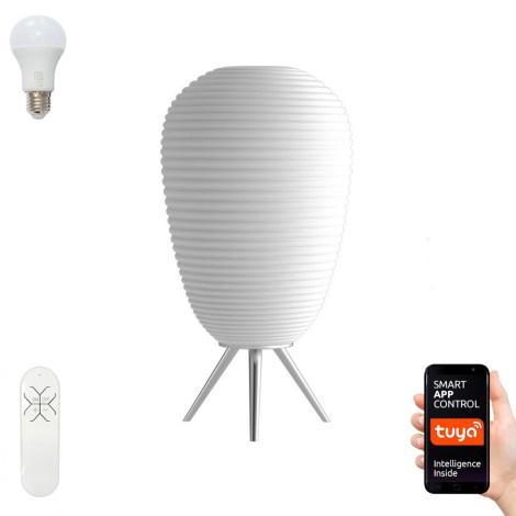 Immax NEO 07064L - LED RGB Lampă de masă dimmabilă COCONO 1xE27/8,5W/100-240V Tuya