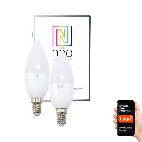 Immax NEO - 2xBec LED dimmabil E14/5W/230V ZigBee