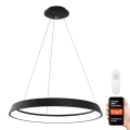 Immax NEO - LED Lustră dimmabilă pe cablu LIMITADO LED/39W/230V 60 cm negru Tuya